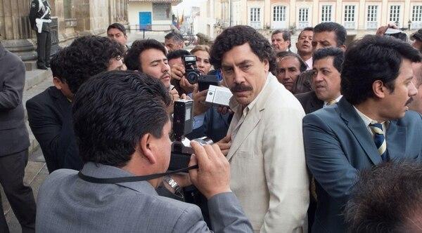 Javier Bardem encarnó a Pablo Escobar en 'Loving Pablo', una de sus películas más recientes. AP