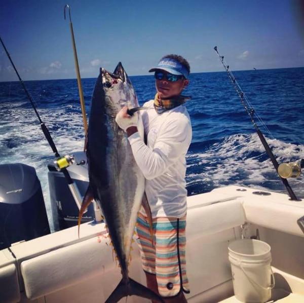 William León trabaja en pesca en el barco Prime Time.