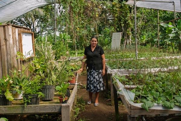 María Luisa Jiménez capacita a varios agricultores. | FABIÁN HERNÁNDEZ