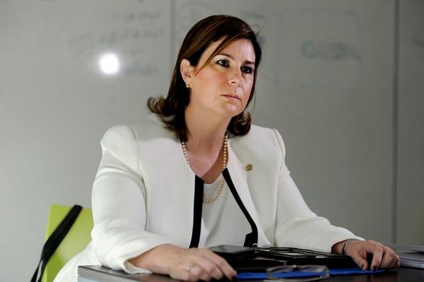 Nancy Hernández, magistrada de la Sala IV. Foto: Alonso Tenorio