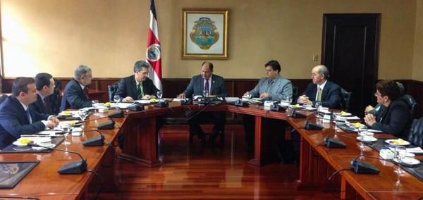 Las propuestas por parte de la Cámara fueron atendidas por el presidente Luis Guillermo Solís.