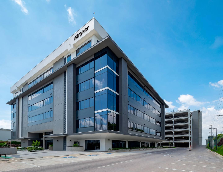 El nuevo centro de servicios financieros de la compañía Stryker se ubica en San Antonio Business Park, en Heredia.