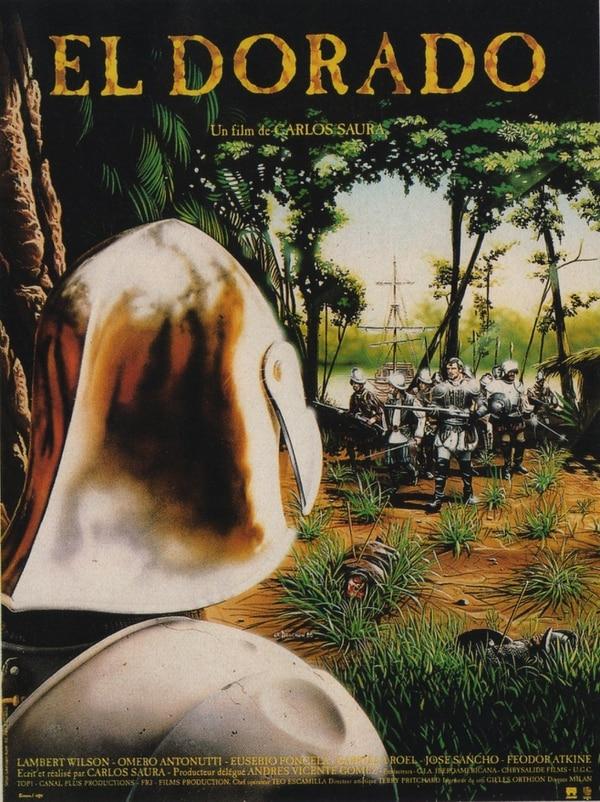 Uno de los pósters con que se promocionó la cinta 'El Dorado'.