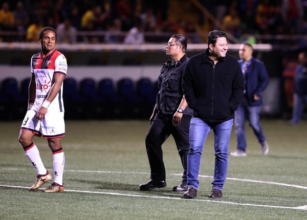 03/03/2018. Heredia. Partido Heredia vs LDA en el Estadio Eladio ROsabal COrdero. Fotograifa: Graciela Solis