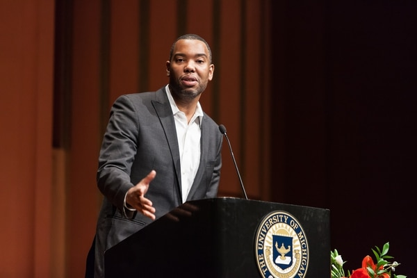 El periodista de temas sociales Ta-Nehisi Coates ha sido reconocido por su obra 'Between the World and me'.