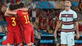 Bélgica despide a Cristiano Ronaldo y se mete en cuartos de final de la Eurocopa