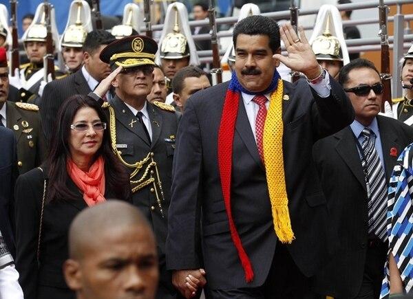 AP.El presidente electo Nicolás Maduro asistió el viernes a la toma de posesión de Rafael Correa en Ecuador.
