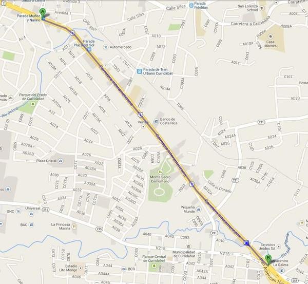 Los cierres se harán desde el sector de Muñoz y Nanne hasta La Galera.