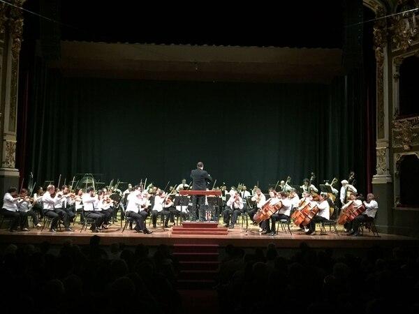 La Sinfónica Nacional interpretó el VIII Concierto de Temporada en el Teatro Nacional