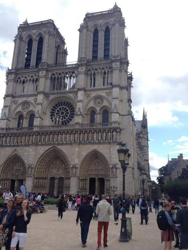 Notre Dame, París. Fotografía: Jairo Villegas S.