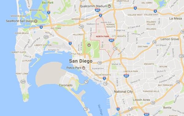 El tiroteo ocurrió en la escuela North Park,en San Bernardino, California.