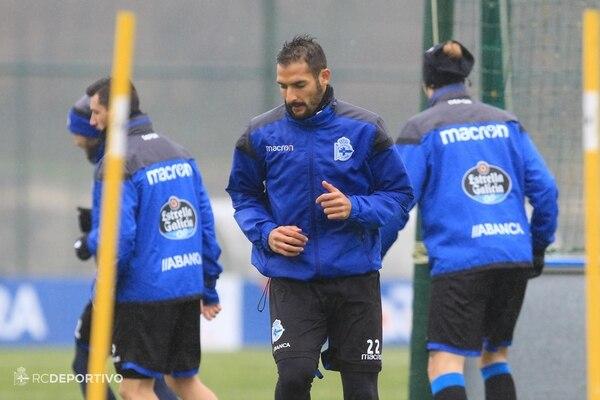 Celso Borges estuvo de 2015 a 2018 en el Deportivo La Coruña. Fotografía: Deportivo La Coruña