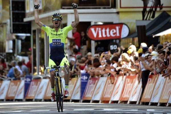 El australiano Michael Rogers se impuso en la etapa más larga del Tour de Francia.