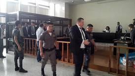 Palidejo  se abstiene de declarar  al iniciarse juicio