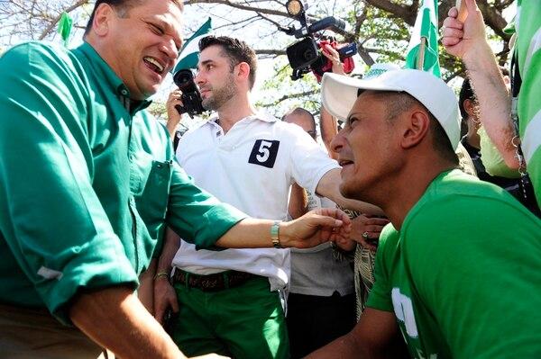 Durante las próximas semanas, la labor primordial del candidato presidencial del PLN, Johnny Araya, será recorrer cantones específicos para motivar a la dirigencia verdiblanca, rumbo a la segunda ronda electoral del 6 de abril.