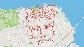 'Arte runner', una iniciativa para crear dibujos con las piernas, un mapa y el GPS del celular
