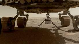 Helicóptero Ingenuity de NASA se prepara para histórico vuelo en Marte