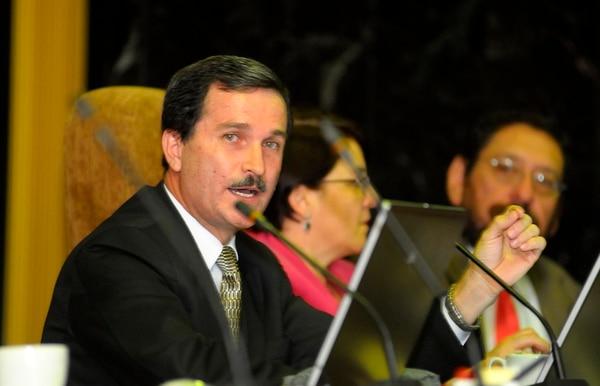 Óscar González tiene 10 años de ser titular en la Sala I.   LUIS NAVARRO