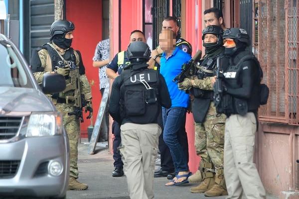 Los cinco extranjeros quedaron a la orden de la Fiscalía como sospechosos de legitimación de capitales. Foto: Rafael Pacheco.