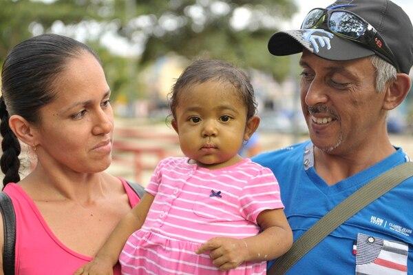 A Génesis Romero se le hizo el trasplante en Venezuela. | ARCHIVO
