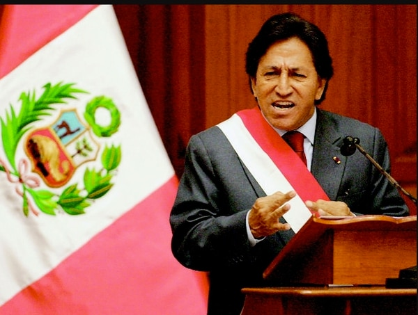 El depósito de $6,5 millones ligado al expresidente peruano Alejandro Toledo se encuentra congelado, a solitud de las autoridades judiciales de Perú, en el banco privado Scotiabank.