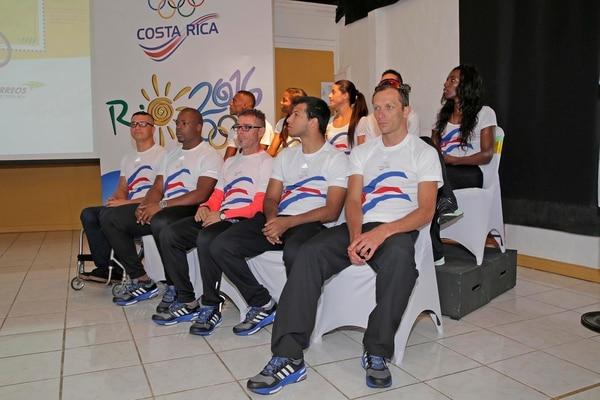 Miguel Murillo estuvo a la par de Leonardo Chacón en la ceremonia de juramentación rumbo a Río 2016.