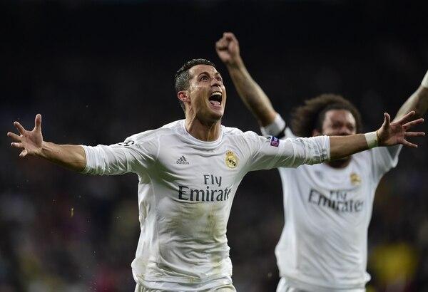 Cristiano Ronaldo marcó un triplete que le está dando la clasificación al Real Madrid ante el Wolfsburgo. El portugués este martes ha estado extraordinario.