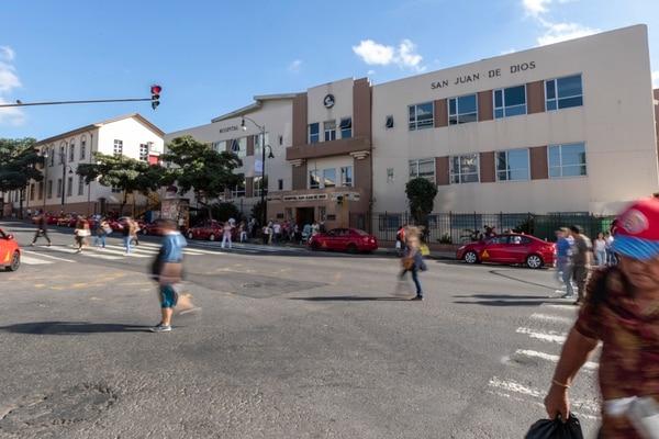 La víctima murió en el Hospital San Juan de Dios. Foto: José Cordero
