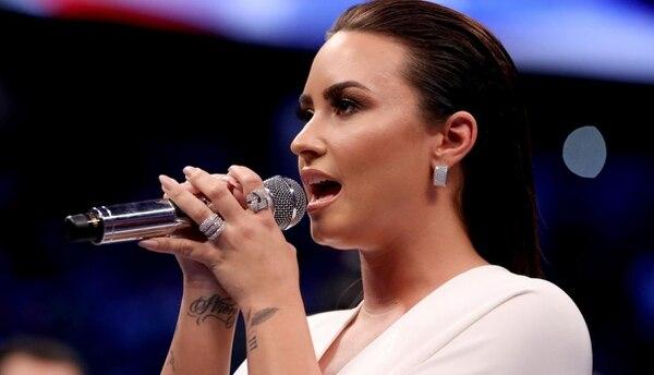 Demi Lovato se dio a conocer como artista juvenil en producciones de Disney. Hoy es una de las solistas pop más cotizadas del mundo. (AFP)