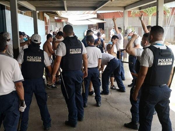 El brote de paperas tiene cerrada la cárcel Gerardo Rodríguez Echeverría desde el 12 de setiembre. Foto: Cortesía de Justicia