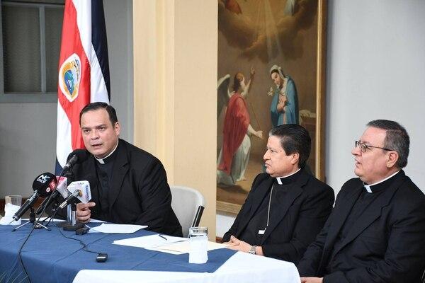 El cura que asumirá el cargo detalló el martes junto al arzobispo de San José cuáles serán sus funciones.