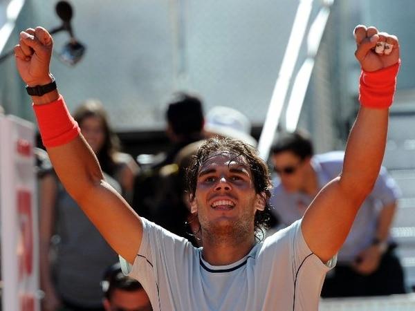 Rafael Nadal venció al suizo Stanislas Wawrinka en la final. | AFP.