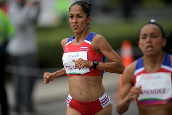 Gabriela Traña durante los Juegos Panamericanos de Lima 2019. Foto: PEDRO PARDO / AFP
