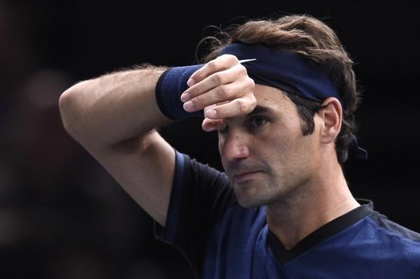 Roger Federer quedó fuera en París.