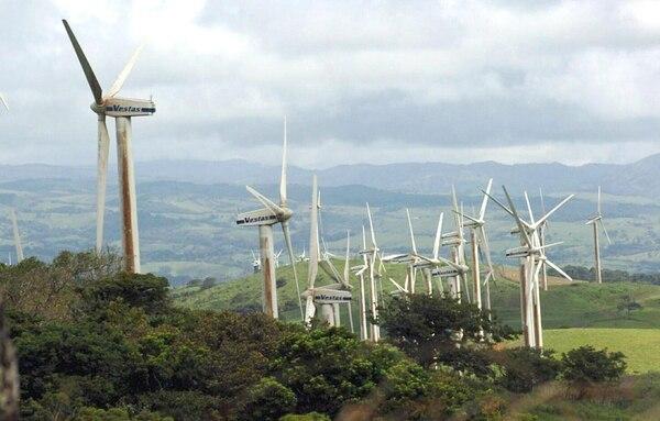 Plantas Eólicas es una de las empresas cogeneradoras proveedoras de energía al ICE. El Instituto adquiere cada vez menos electricidad de compañías locales, según sus estados financieros.   ARCHIVO/MARIO ROJAS