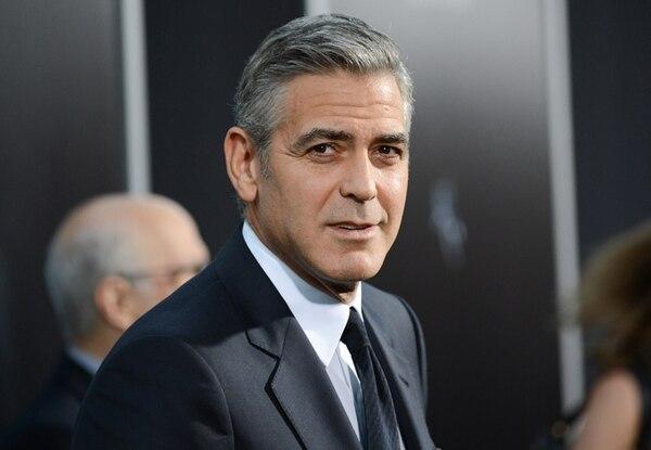 Honor. El trabajo de Clooney ante y detrás de las cámaras será reconocido. EFE