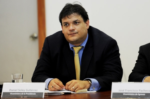 Daniel Soley, viceministro de la Presidencia. | MARCELA BERTOZZI.