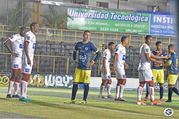 Guadalupe - Santos Torneo de Clausura 2020 19/02/2020 Guadalupe Santos de Guápiles. Cortesía: Guadalupe FC