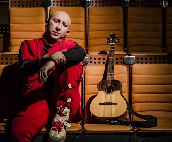 Mauricio Grande une al teatro con la música. Mauricio Grande para LN.