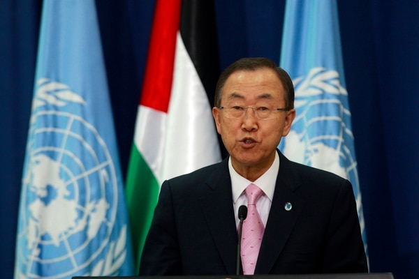 El Secretario General de la ONU, Ban Ki-moon, advirtió a Siria sobre el uso de armas químicas.