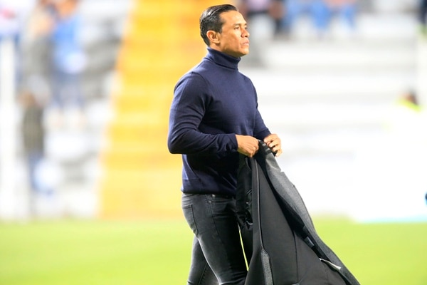 Wálter Centeno es el técnico del Saprissa. Rafael Pacheco