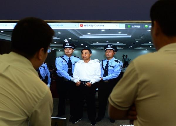 Bo Xilai fue condenado a cadena perpetua por los tribunales de China.