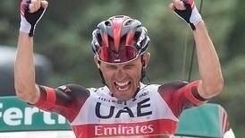 Rafal Majka duró cuatro años para ganar de nuevo en una vuelta grande