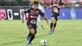 Futuro de Aarón Suárez depende del talento y no de la estatura, cree técnico de Alajuelense