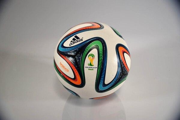 La Brazuca fue el balón de Brasil 2014. Foto de: Diana Méndez.