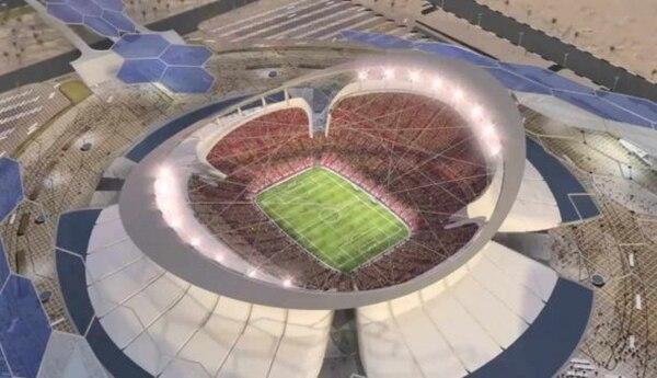Este estadio estará rodeado por agua y los aficionados deberán atravesar 6 puentes para poder ingresar a la butaca.