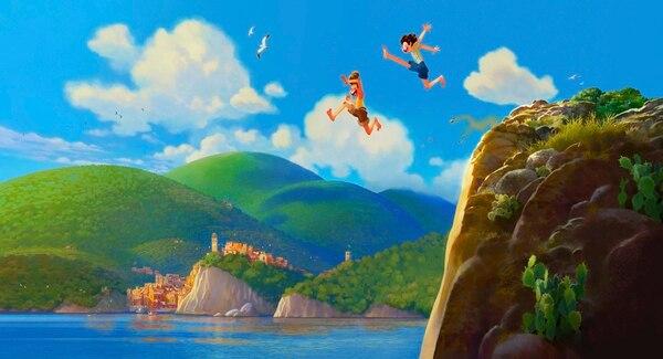 Primera imagen de 'Luca', proporcionada esta semana por Pixar para todo el mundo. Cortesía de Pixar