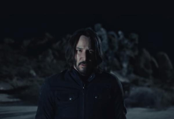 Squarespace reclutó al actor Keanu Reeves para protagonizar su anuncio del Super Bowl 2018.