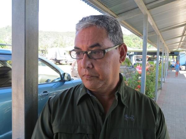 Alberto Cole, alcalde de Osa, alega que Judesur no terminó de girar los recursos para el proyecto vial en Bahía Ballena. | ALFONSO QUESADA/ARCHIVO.