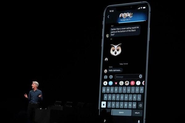 En la nueva versión de iOS, los Memojis serán almacenados como stickers compatibles con las aplicaciones nativas de iPhone como Mensajes y Mail. Foto: AFP